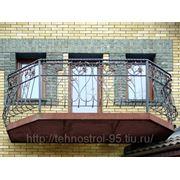 Ограждение балкона № 2 фото