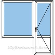 Балконный блок Пластиковый фото