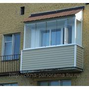 Крыша для балкона фото