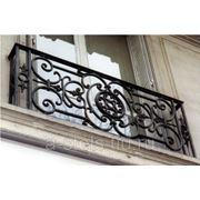 Балкон железный модель 9 фото