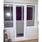 Балконный блок профиль Gealan, фурнитура Roto NT от производителя фото