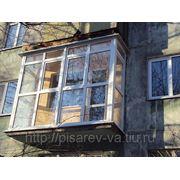 Французское остекление балконов фото