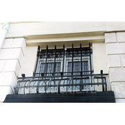 Балкон железный модель 1 фото