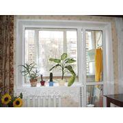Балконный блок купить профиль Rehau, фурнитура Roto NT фото