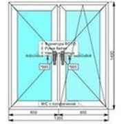 Окно века пролайн 4 камерный (1камерный стеклопакет) фото