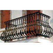 Балкон железный модель 2 фото