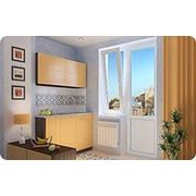Балконный блок с поворотно-откидной створкой в панельный дом фото