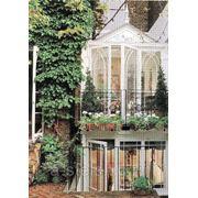 Балкон железный модель 5 фото