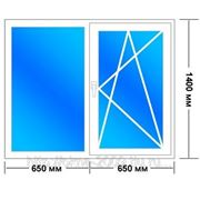 Окна века софтлайн 5 камерный(1 камерный стеклопакет) фото