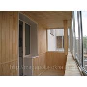 Лоджия(П-образный балкон 3000х1600) - раздвижная система фото