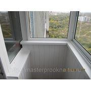 Окна ПВХ остекление балконов, лоджий фото