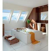 Мансардное окно FAKRO PTP-V U3 окно из ПВХ 55х98 фото