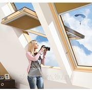 Мансардное окно с приподнятой осью поворота створки FYP-V U3 proSky фото