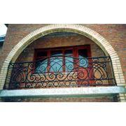 Балкон железный модель 8 фото