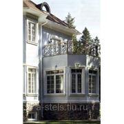 Балкон железный модель 16 фото