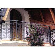 Балкон железный модель 12 фото