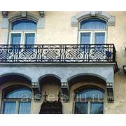 Балкон железный модель 14 фото