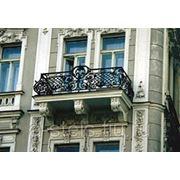 Балкон железный модель 13 фото