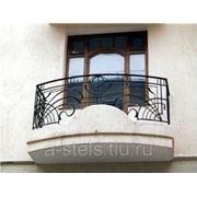 Балкон железный модель 10 фото