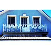 Балкон железный модель 15 фото