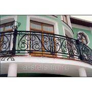 Балкон железный модель 23 фото