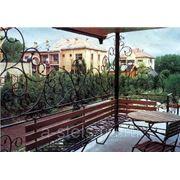 Балкон железный модель 22 фото