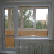Балконный выход фото