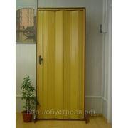 Дверь гармошка. Цвет дуб.Тайвань. фото
