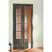 Межкомнатная дверь Серии 08 «Бифолд-эконом» полотно 14 фото
