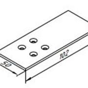 Монтажная пластина применяется с закладными ЭК-5013-01 фото