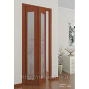 Межкомнатная дверь Серии 08 «Бифолд-эконом» полотно 16 фото