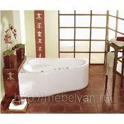 Акриловая ванна PoolSpa LEDA 150х100 L/R фото