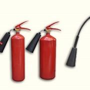 Огнетушители углекислотные (ОУ) фото