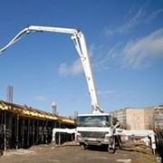 Услуги бетононасоса 48м фото