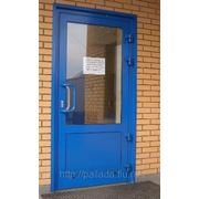 Алюминиевая дверь фото