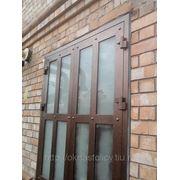 Дверь из алюминия фото
