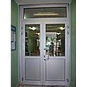 Алюминиевые двери в Москве фото