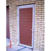 Гаражная дверь фото