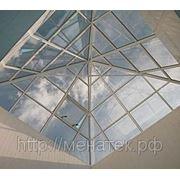Алюминиевые зенитные фонари (конструкции) фото