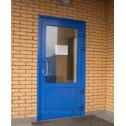 Алюминиевые двери. фото