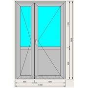 Двери входные 2х створчатые фото