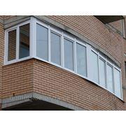 Остекление балконов и лоджий фото