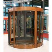 Автоматические карусельные двери фото