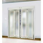 Автоматические складные двери. фото