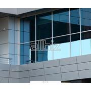 Окно алюминиевое фото