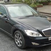 Услуги такси Mercedes S (W221) фото