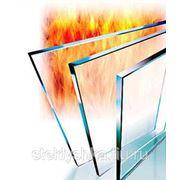 Термостойкое стекло для каминов 500*400 мм фото