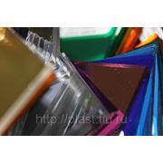 Пластик акриловый 1220*2440*3 мм зеркальный голубой фото