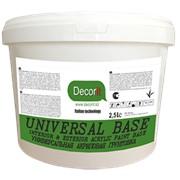 DECORIT BASE Универсальная акриловая грунтовка фото