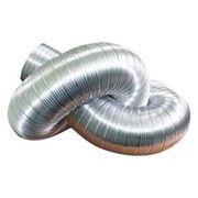 Трубы гофрированные алюминиевые фото